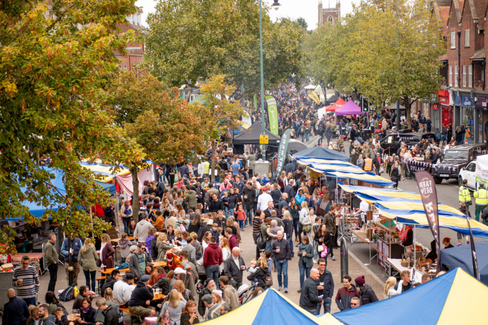 A feastival of fun and flavours